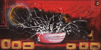 Rosso oriente - Stampe d'arte