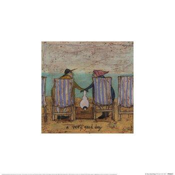 Stampe d'arte Sam Toft - A Very Good Dog II