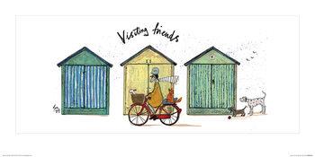 Sam Toft - Visiting Friends - Stampe d'arte