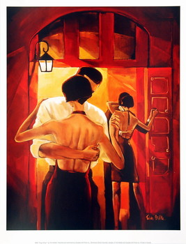 Stampe d'arte Tango Shop I