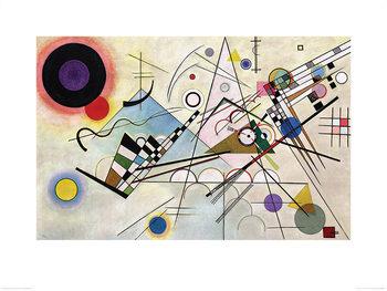 Stampe d'arte Wassily Kandinsky - Composition VIII