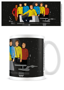 Mok Star Trek - Characters Illustration