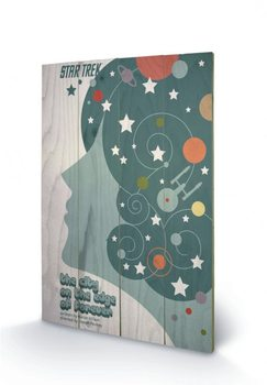 Poster su legno STAR TREK - city on the edge