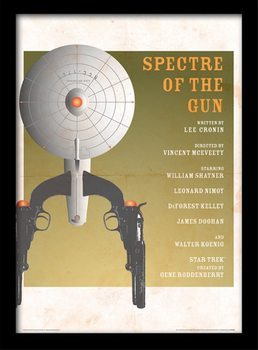 Star Trek - Spectre Of The Gun üveg keretes plakát