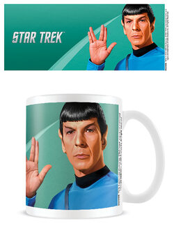 Hrnek Star Trek - Spock Green