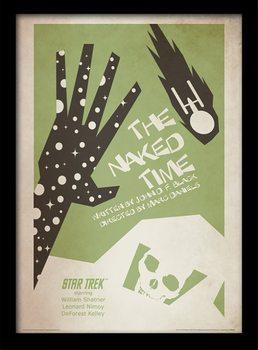 Star Trek - The Naked Time üveg keretes plakát