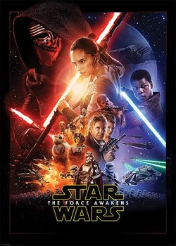 Star Wars Episode VII: The Force Awakens - One Sheet - плакат (poster)
