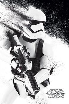 Star Wars Episode VII: The Force Awakens - Stormtrooper Paint плакат