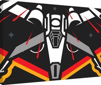 Plagát Canvas Star Wars : Epizóda VII - X-Wing Pencil Art