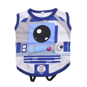 Hunde-Kleidung Star Wars - R2D2