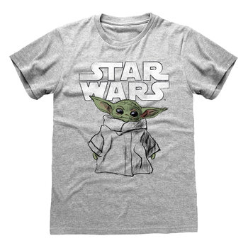 T-Shirt Star Wars: The Mandalorian - Child Sketch
