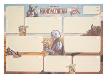 Plannering Star Wars: The Mandalorian