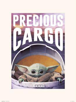 Star Wars: The Mandalorian - Precious Cargo Festmény reprodukció