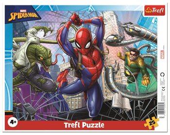 Puzzle Statečný Spiderman