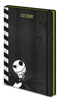 Diary 2021 - Tim Burton's The Nightmare Before Christmas (EN) Stationery