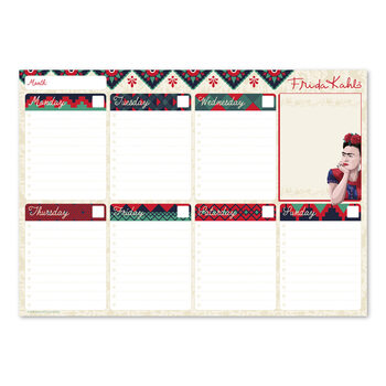 Weekplanner Frida Kahlo Stationery