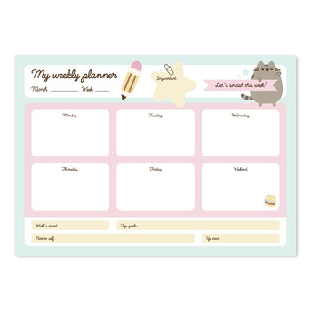 Weekplanner Pusheen Stationery