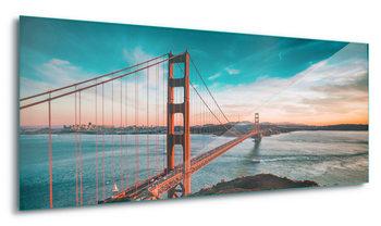Golden Gate Bridge Steklena slika