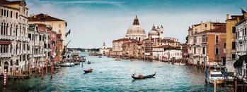 Venice - View of City Steklena slika