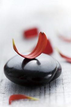 Zen - Red 2 Steklena slika