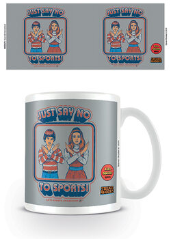 Taza Steven Rhodes - Just Say No To Sports