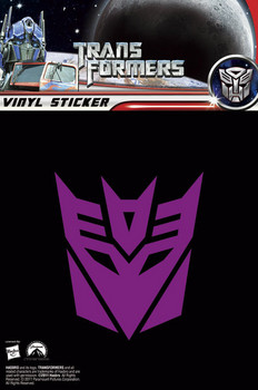 TRANSFORMERS 3 – deceptacons sticker