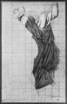 Study for 'The Death of Socrates', c.1787 Festmény reprodukció
