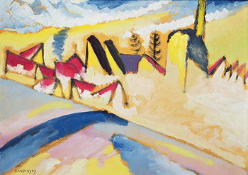 Study in Winter No. 2, c.1910 Festmény reprodukció