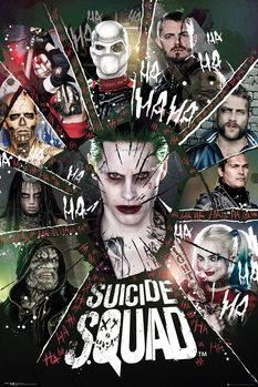 Suicide Squad - Circle - плакат (poster)