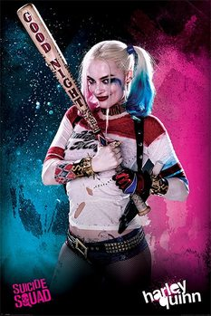 Suicide Squad - Harley Quinn - плакат (poster)