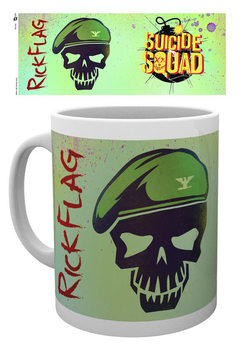 Bögre Suicide Squad – Öngyilkos osztag  - Flag Skull