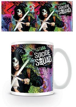 Bögre Suicide Squad - Öngyilkos osztag  - Katana Crazy