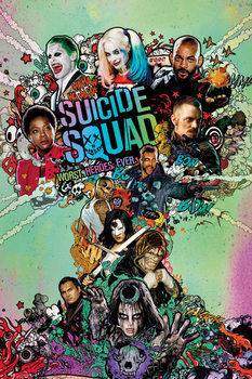 Suicide Squad - One Sheet - плакат (poster)