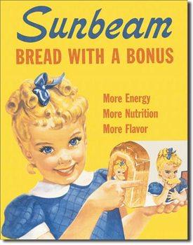 Sunbeam - Little Miss Sunbeam Plaque métal décorée