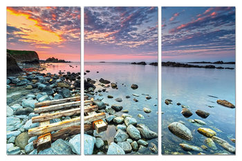 Cuadro Sunrise on the coast
