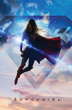 Supergirl - Clouds - плакат (poster)