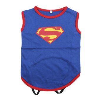 Hunde-Kleidung Superman
