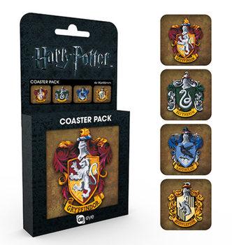 Harry Potter - Crests Suporturi pentru pahare