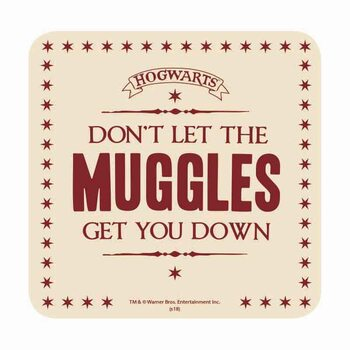 Harry Potter - Muggles Suporturi pentru pahare