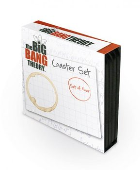 The Big Bang Theory - 4 coaster set  Suporturi pentru pahare