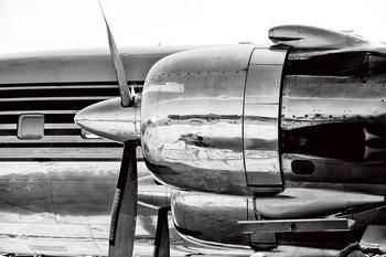 Szklany obraz Plane - Red Bull