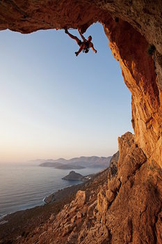 Szklany obraz Strenght and Bravery - Rocks