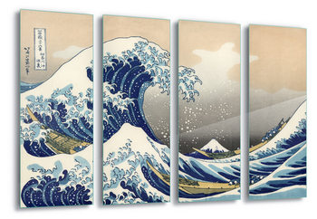 Szklany obraz  The Great Wave Off Kanagawa, Hokusai