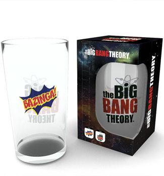 Szkło The Big Bang Theory (Teoria wielkiego podrywu) - Bazinga