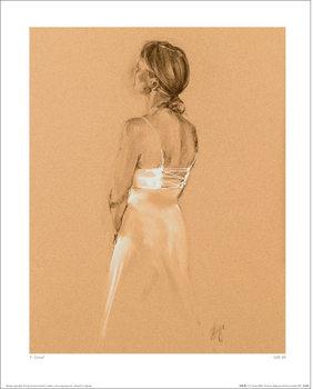 T. Good - Silk III Festmény reprodukció