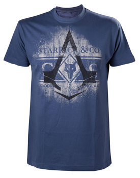 Assassin's Creed Syndicate - Blue Starrick & Co T-shirt