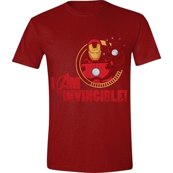 T-shirt  Avengers - Iron-Man I Am Invincible