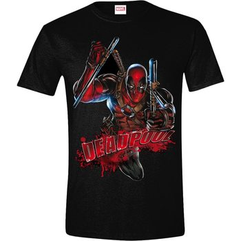 T-shirt Deadpool - Attack
