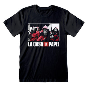 Money Heist (La Casa De Papel) - Photo And Logo T-shirt