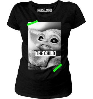 T-shirt Star Wars: The Mandalorian - Baby Yoda Poster